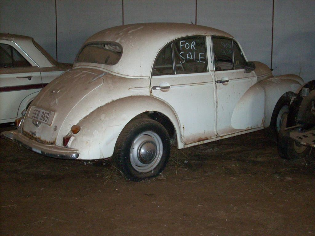 Morris Minor - circa 1950s -