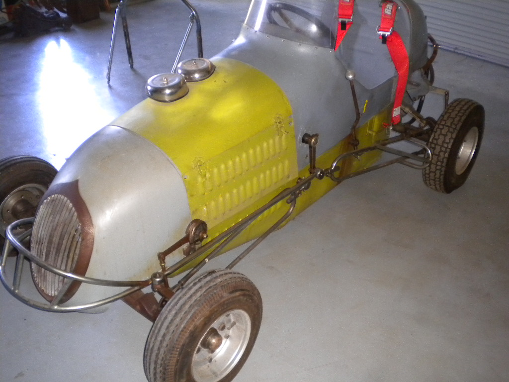 CLASSIC MIDGET RACER 3/4 SPEEDCAR OLD DIRT TRACK CAR For Sale in ...